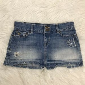 Abercrombie & Fitch Jean Skirt 662